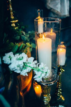 Wedding Candles - Derek Halkett Photography