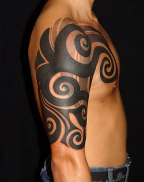 Excellent tribal tattoo
