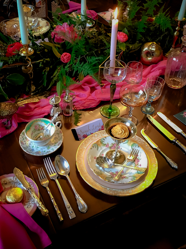 Bohemian luxury tablescape | Rocksalt Photography