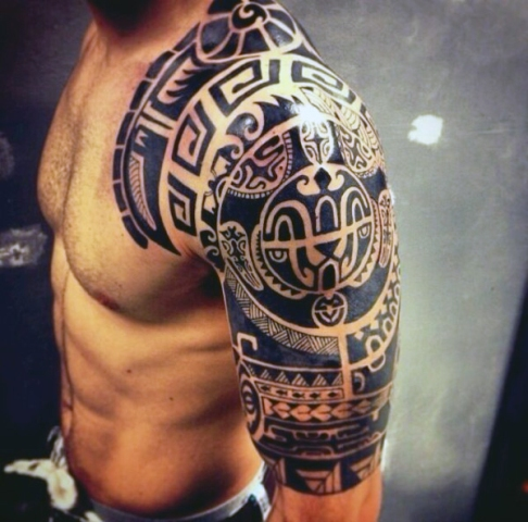 Perfect tribal tattoo idea