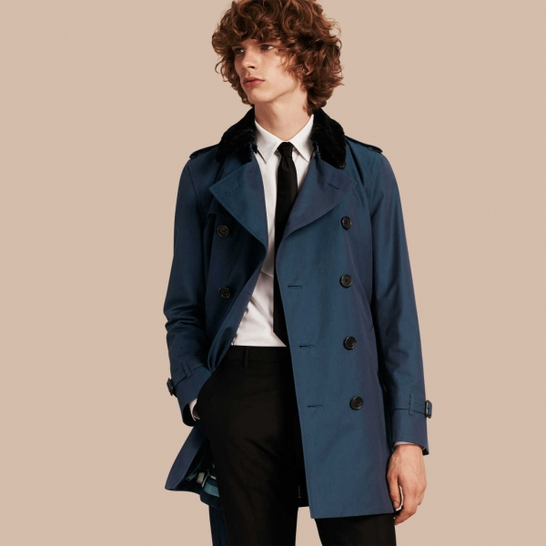 Trench coat for office look