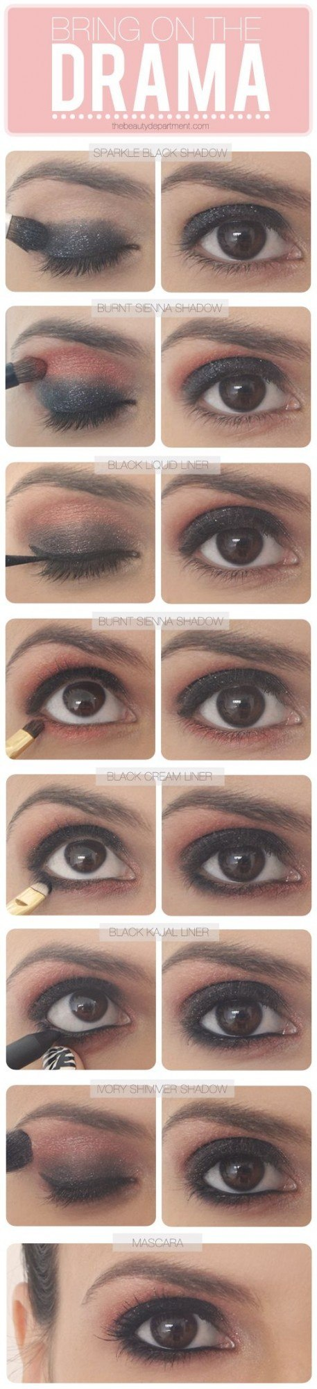 Trendy eye makup Tutorials
