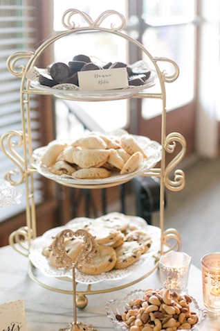 Dessert display | Leah Marie Photography