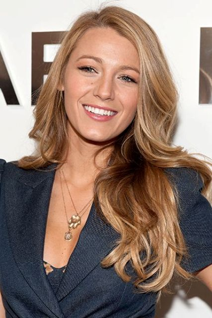 NEW YORK, NY - FEBRUARY 12: Blake Lively attends the Michael Kors fall 2014 fashion show on February 12, 2014 in New York City. (Photo by D Dipasupil/FilmMagic)