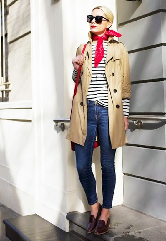 Trench Coat Outfits Women-19 Ways to Wear Trench Coats this Winter (18)