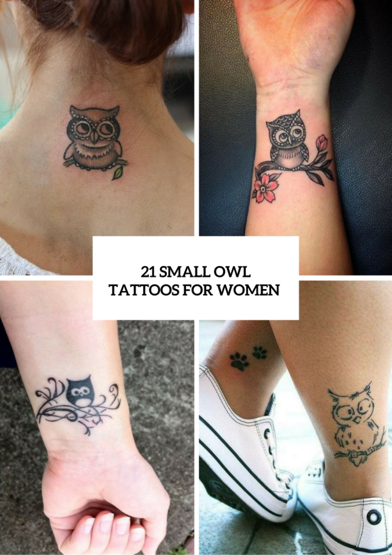 Small Owl Tattoo Ideas For Women