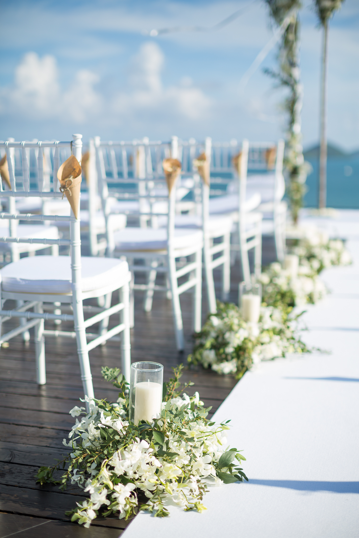 ceremony seating - photo by DarinImages http://ruffledblog.com/this-bride-is-sharing-all-you-need-to-know-about-a-destination-wedding-in-thailand