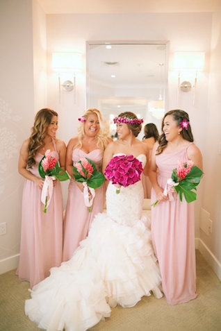 Bridesmaids dresses from Alfred Angelo | Anna Kim Photography