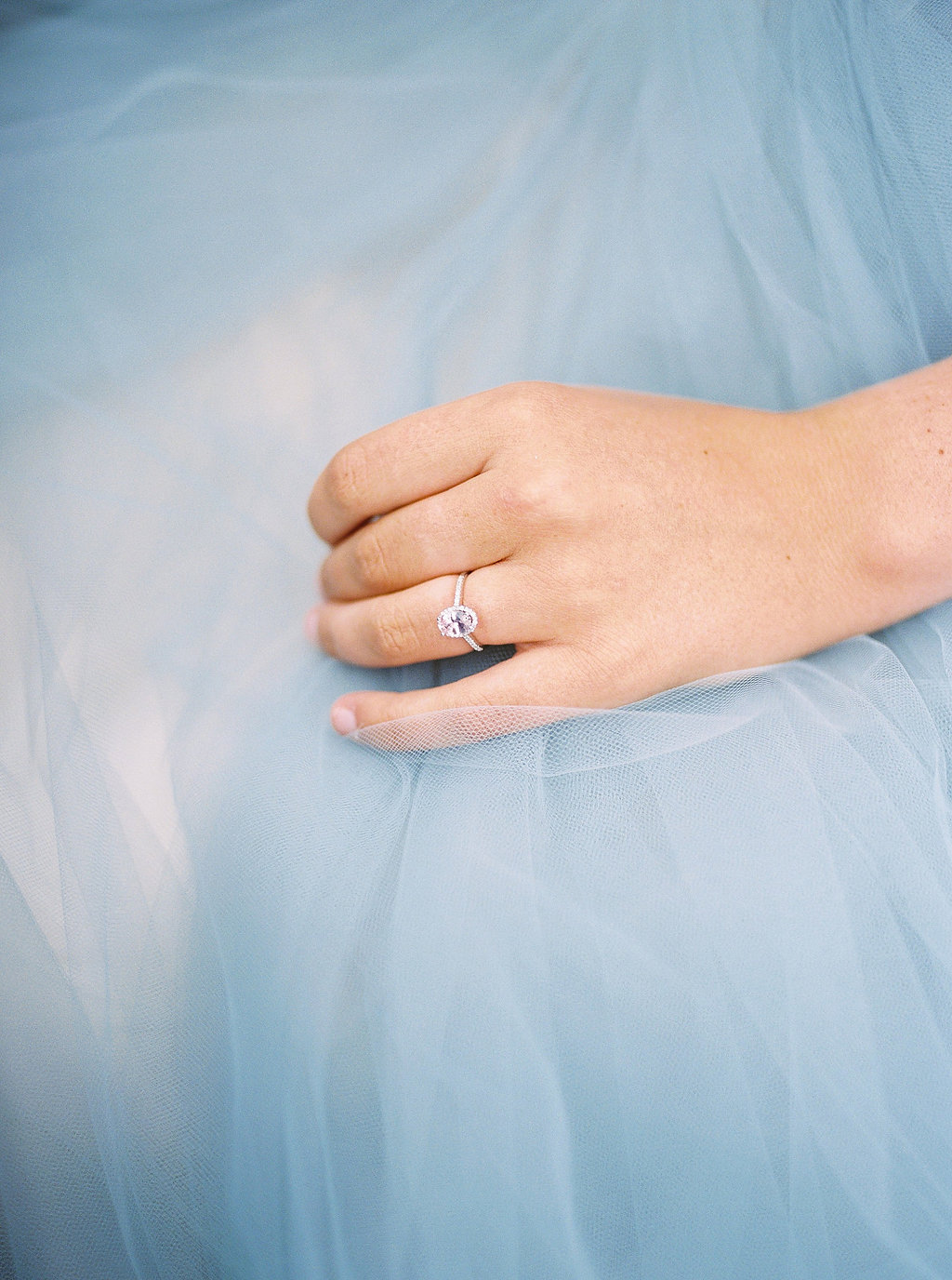oval engagement rings - photo by Alexandra Elise Photography http://ruffledblog.com/cobalt-and-amber-wedding-inspiration