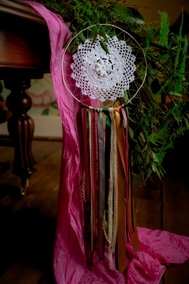Wedding dreamcatcher | Rocksalt Photography