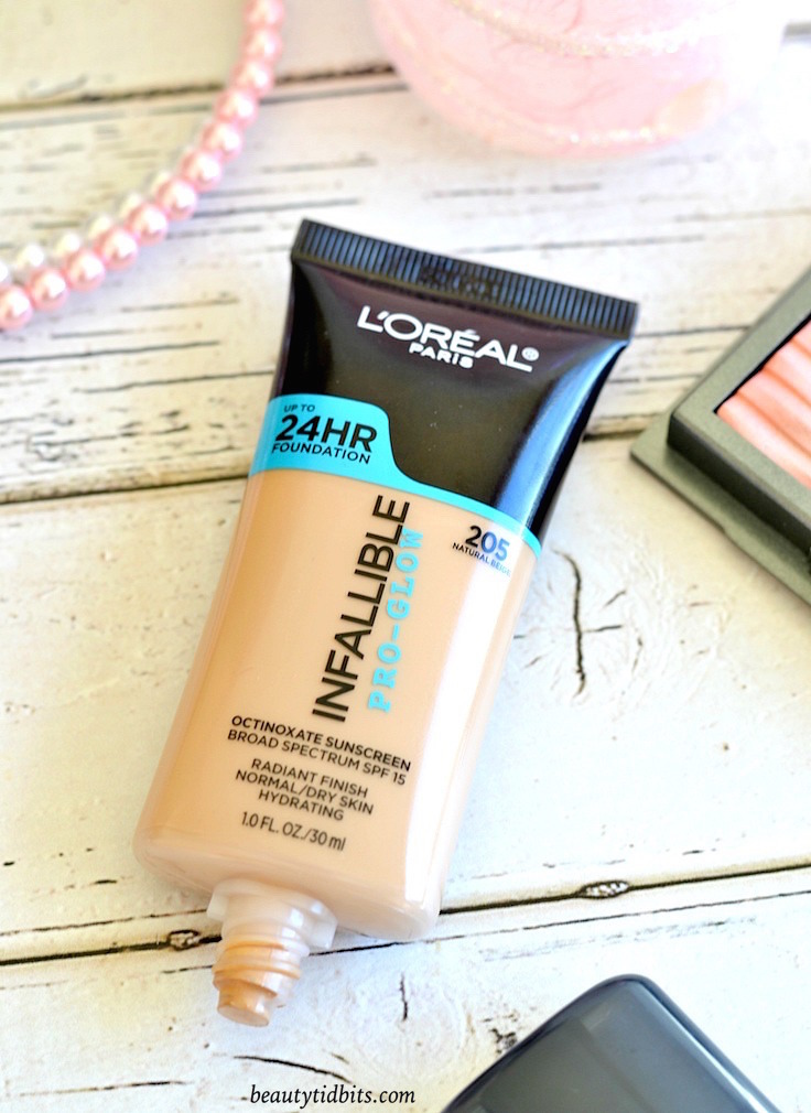 Loreal Infallible Pro-glow Foundation