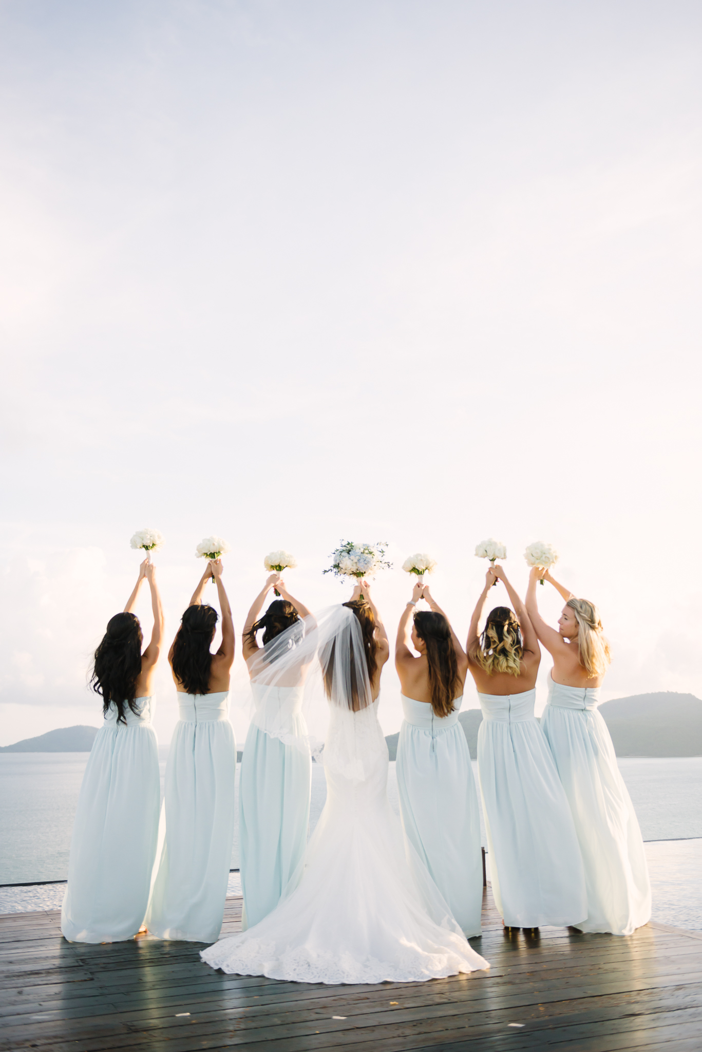 bridesmaids - photo by DarinImages http://ruffledblog.com/this-bride-is-sharing-all-you-need-to-know-about-a-destination-wedding-in-thailand