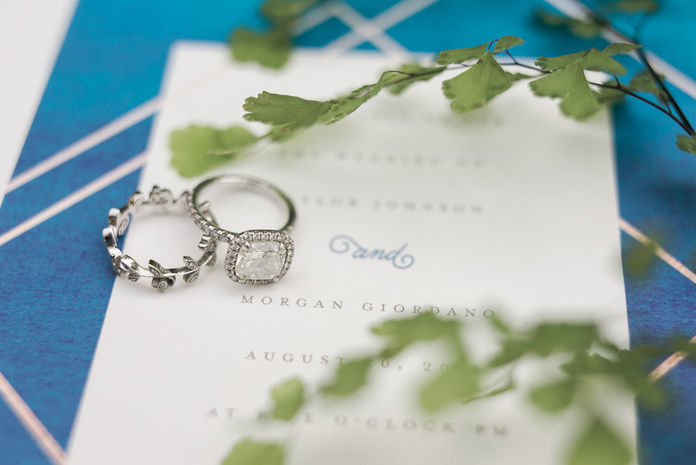 engagement rings - photo by Anya Kernes Photography http://ruffledblog.com/organic-wedding-inspiration-with-shades-of-blue