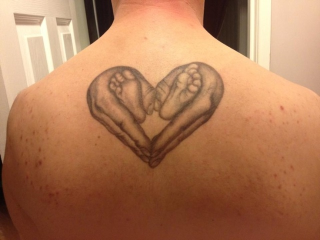 Cool tattoo idea for dad