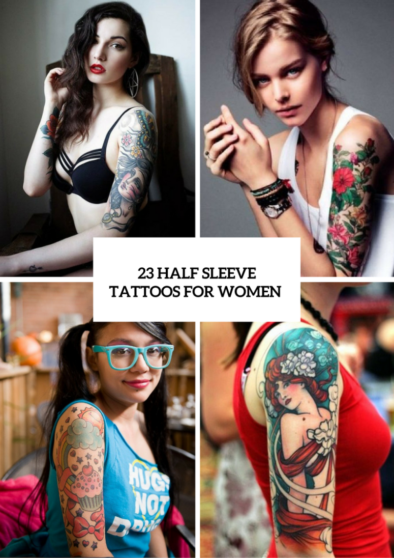 Half Sleeve Tattoos For Women