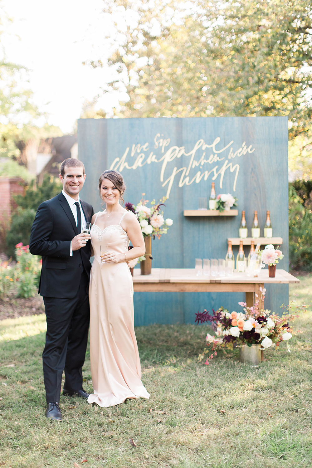 Historic Garden Wedding Inspiration - photo by Candice Adelle Photography http://ruffledblog.com/historic-garden-wedding-inspiration