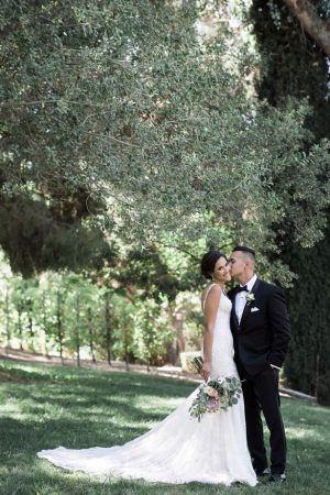 Beautiful outdoor wedding photo - William Innes Photography