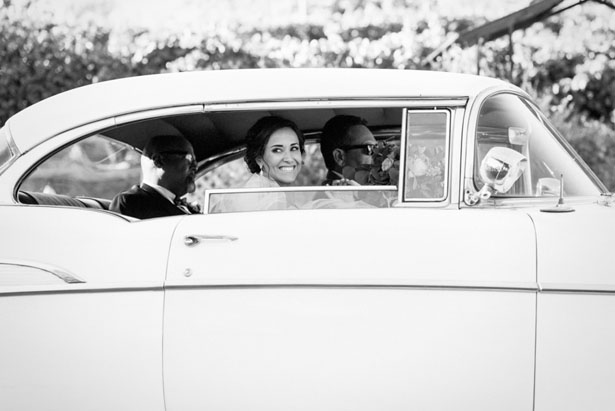 Vintage wedding car - William Innes Photography
