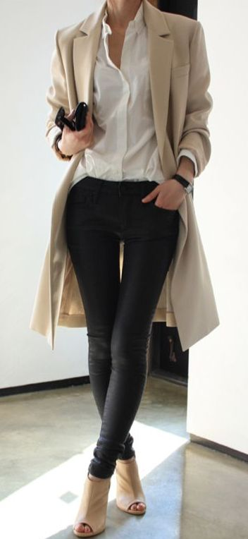 Trench Coat Outfits Women-19 Ways to Wear Trench Coats this Winter (7)