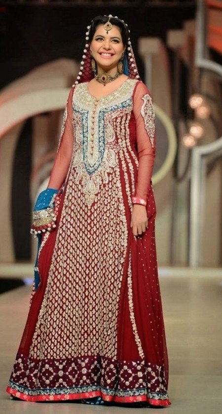Pakistani Bridal Couture Wedding Dresses 2015