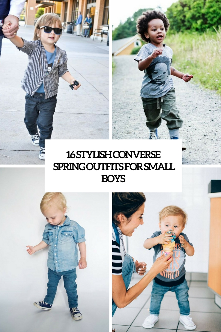 stylish converse spring outfits for small boys cover