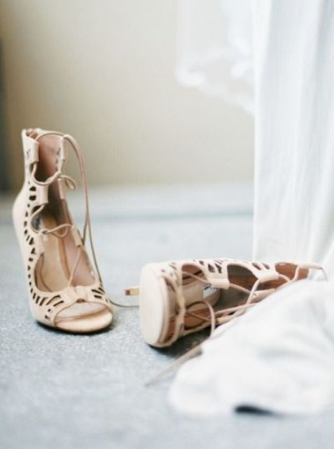 adorable boho lacy heel sandals to make a statement