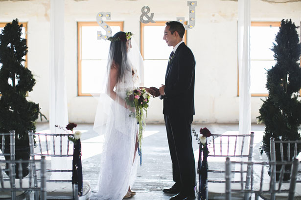 Wedding ceremony picture - Alicia Lucia Photography