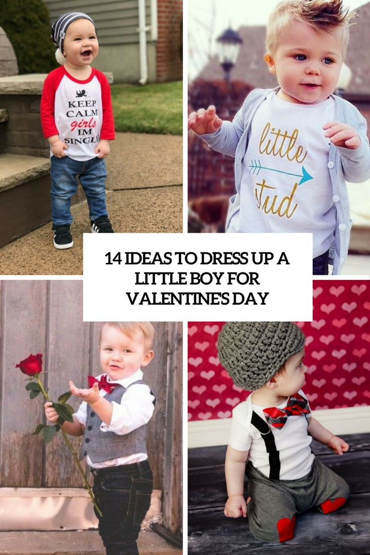 ideas to dress up a little boy for valentines day cover