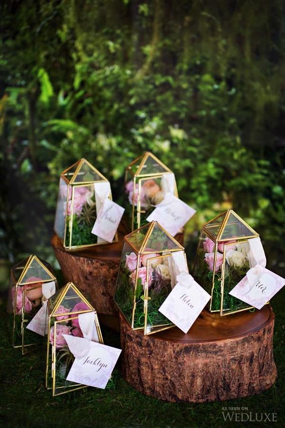 39 Trendy Ways To Incorporate Terrariums Into Your Wedding Décor ...