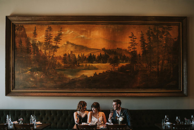 Seattle restaurant wedding | Lena Peterson Photography