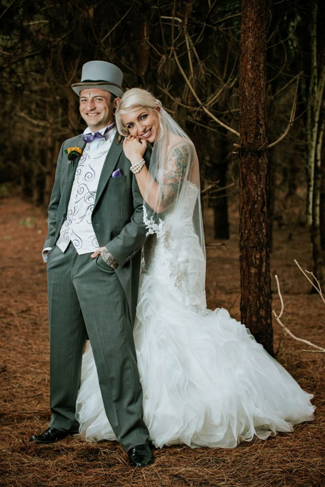 This couple met at 13 years old and then parted but they found each other again and finally got married