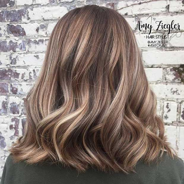 Bronde Long Bob Haircut Idea