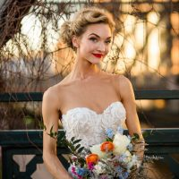 Beautiful bridal portrait - Aldabella Photography