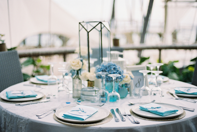 Blue beach wedding details Asia Pimentel Photography