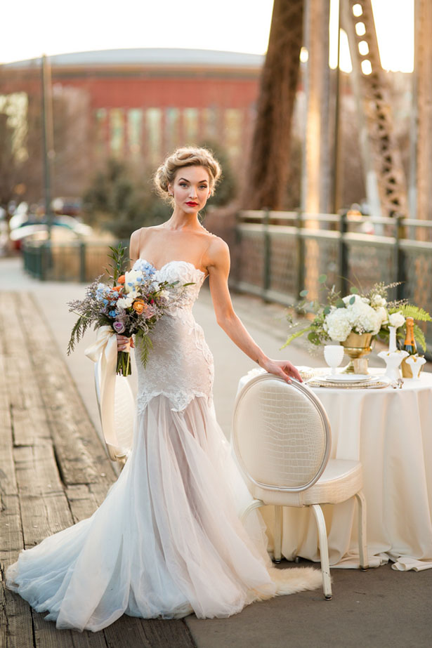 Stunning bridal dress - Aldabella Photography