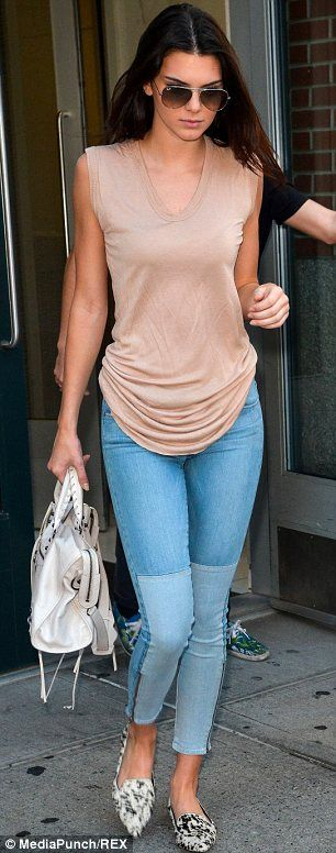 Kendal Jenner Casual Style