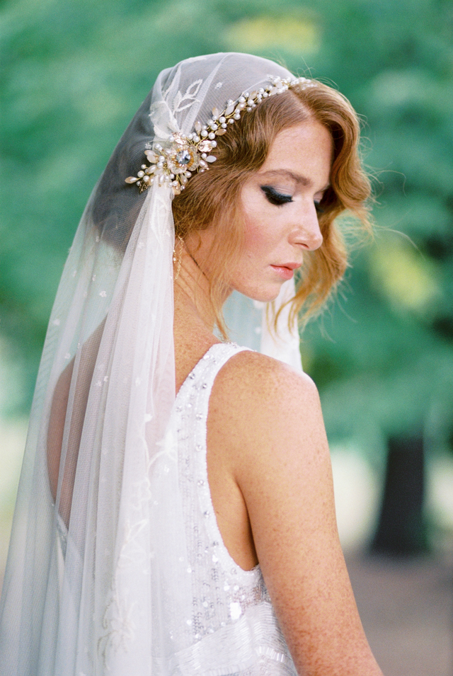 Vintage wedding veil | Nadiya Niyazova Photography