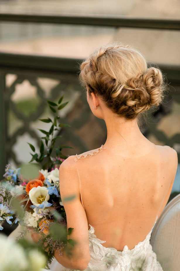 Bridal hairstyle - Aldabella Photography