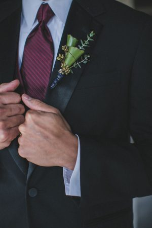 Groom boutonniere - Alicia Lucia Photography
