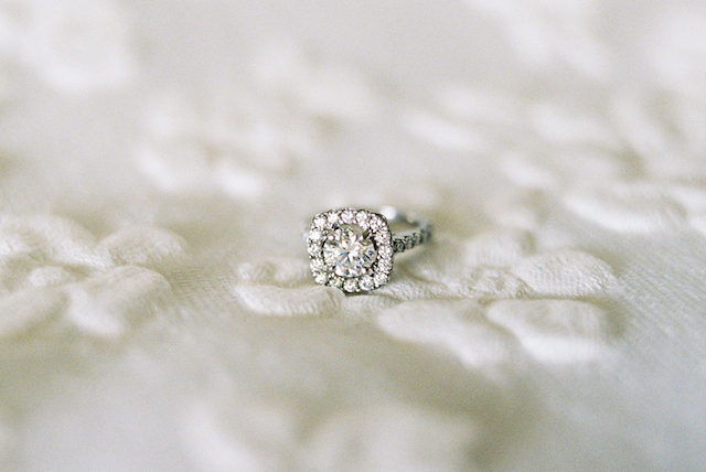 Halo diamond ring Asia Pimentel Photography