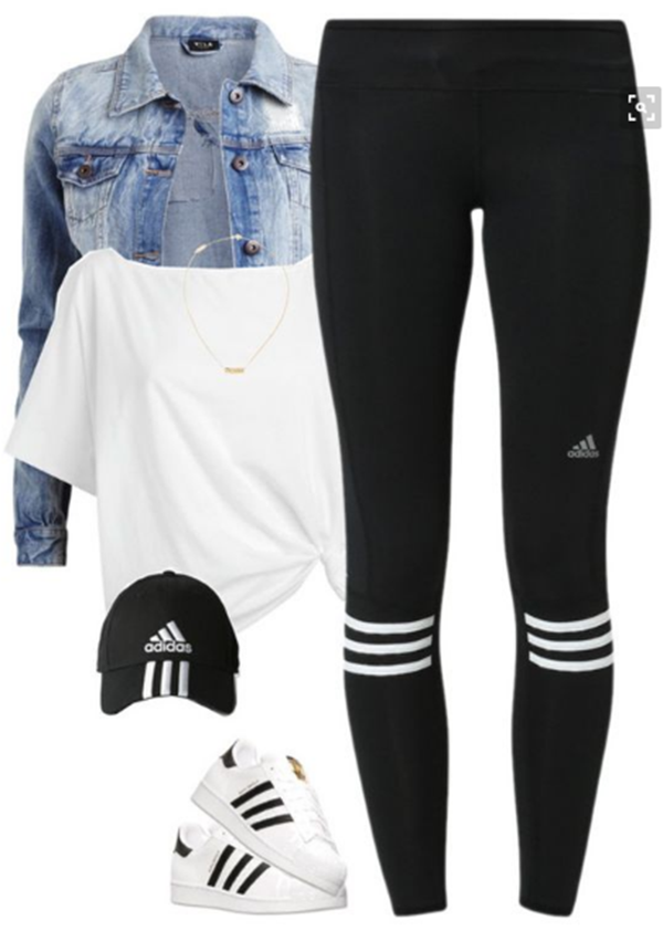 best outfits with adidas superstars (16)