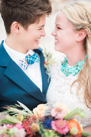 Southwest wedding colors and inspiration | Green Blossom Photography