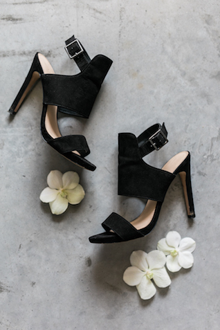 Black wedding shoes | 135 Milimetros