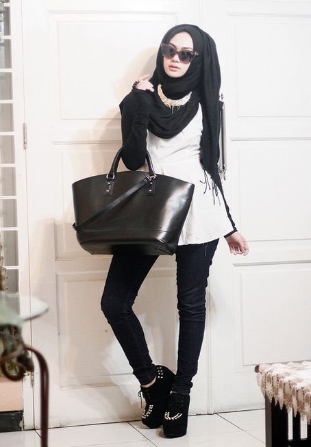Hijab with Wedges