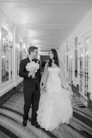 Black and white wedding photo - Clane Gessel Photography