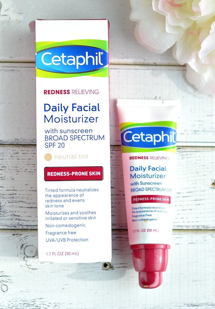 Looking for the best drugstore tinted moisturizer with SPF? This new one by Cetaphil tones down redness, provides great coverage and the gentle mineral SPF formula hydrates and protects dry and irritated, sensitive skin.