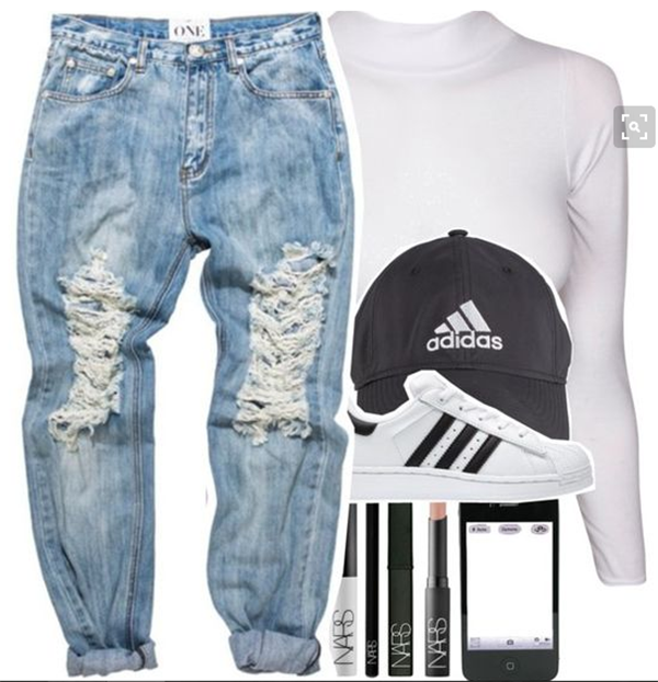 best outfits with adidas superstars (8)