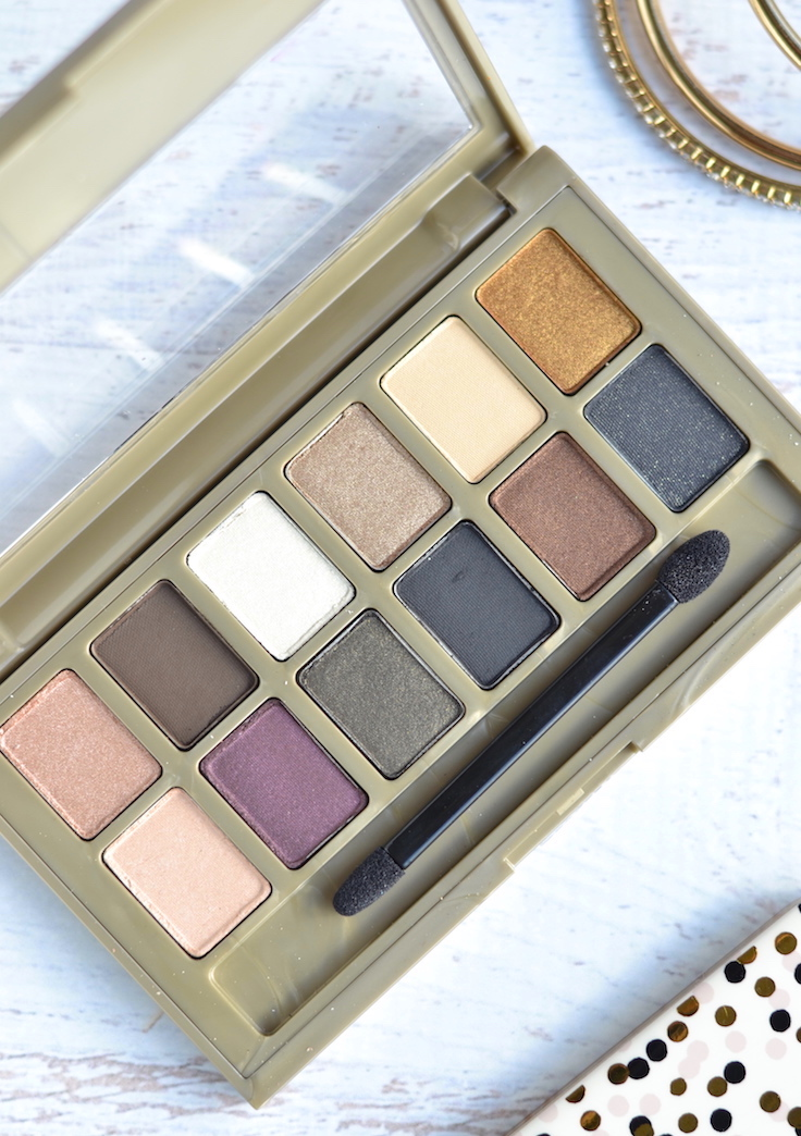 Maybelline 24K Nudes Eyeshadow Palette review and swatches