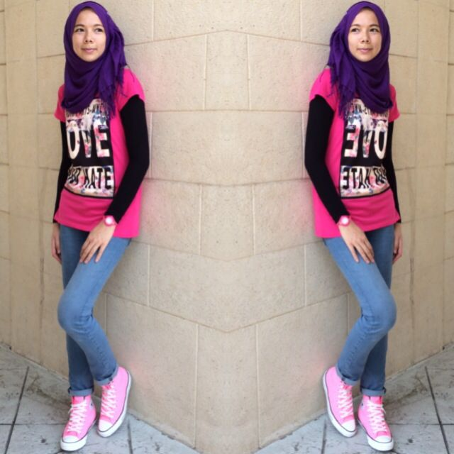 How to look funky with hijab