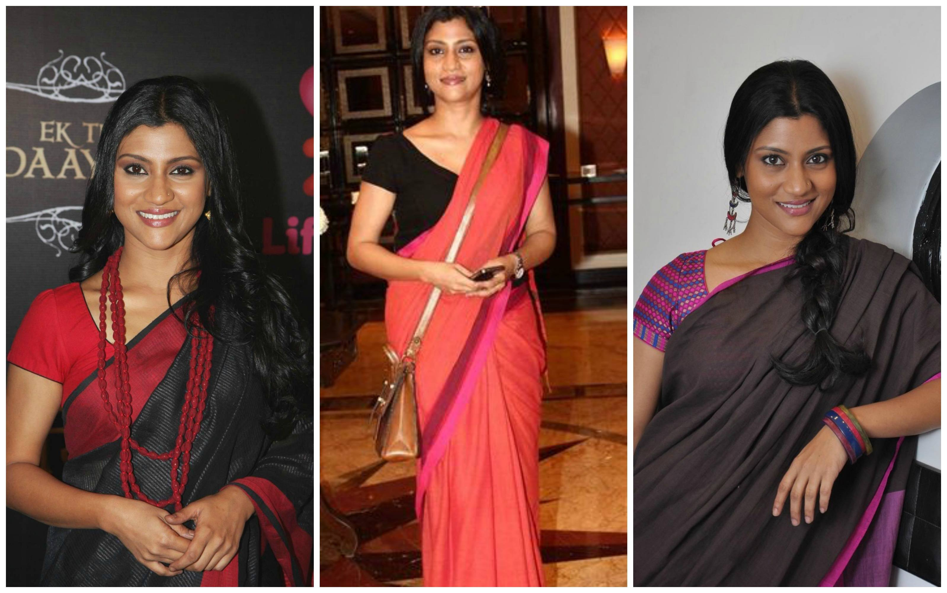 a98c0b0aac Instead, she opts for plain sarees or ones with simplest borders.  RECOMMENDED: How to Wear Saree Tutorial-Step By Step Guide to Drape Saree